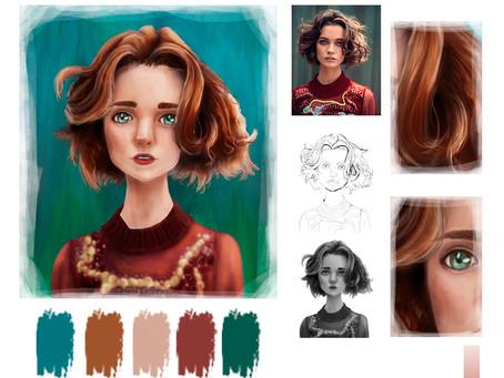 7 секретів з малювання волосся