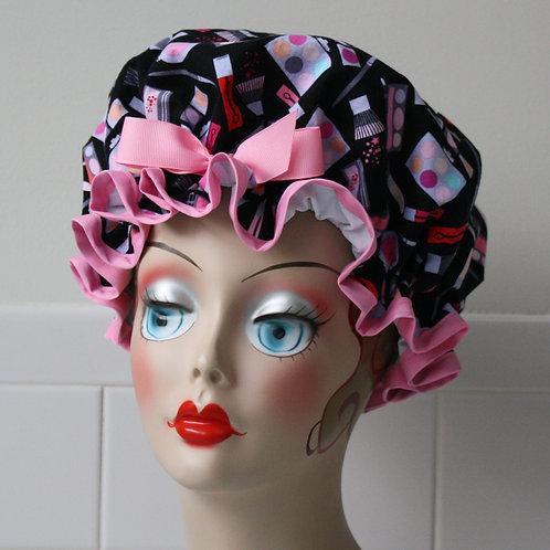 Makeup Artist Shower Cap