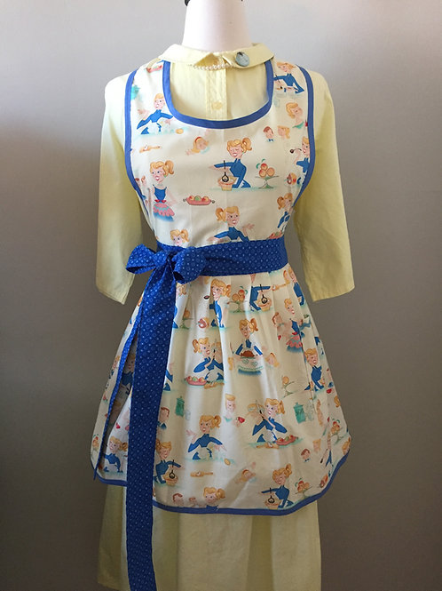 Betty Bakes Gathered Skirt Apron