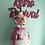 Thumbnail: Pink Floral Vintage Tablecloth Retro Apron