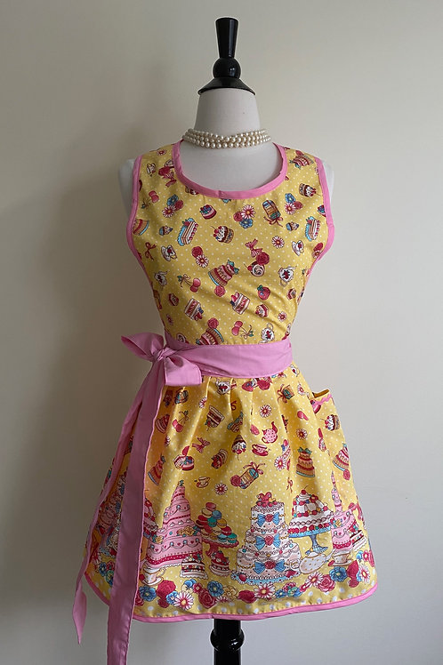 Fancy Cakes Retro Apron