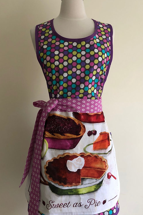 Sweet as Pie Retro Apron