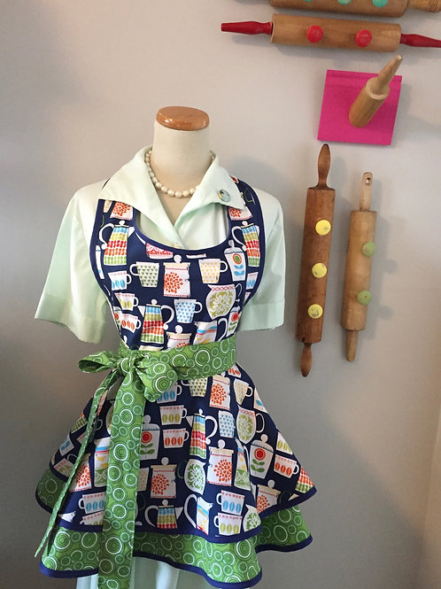 Pretty Pyrex Retro Apron