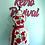 Thumbnail: Vintage Red Roses Apron