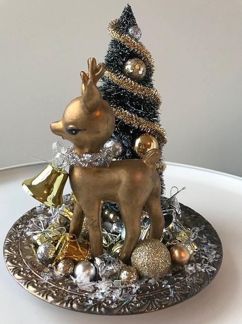 Vintage Deer Christmas Decoration #7