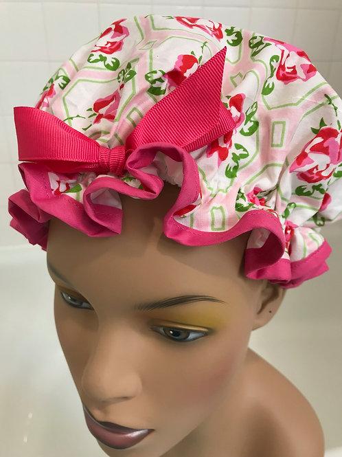 Women's Shower Cap Roses Shower Cap