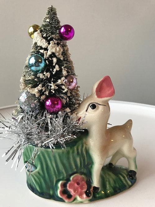 Vintage Deer Christmas Decoration #3
