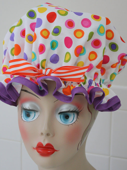 Jelly Dots Shower Cap