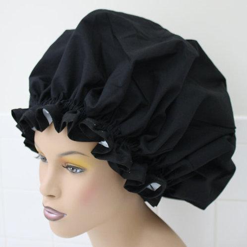 Black XL Sleep Bonnet