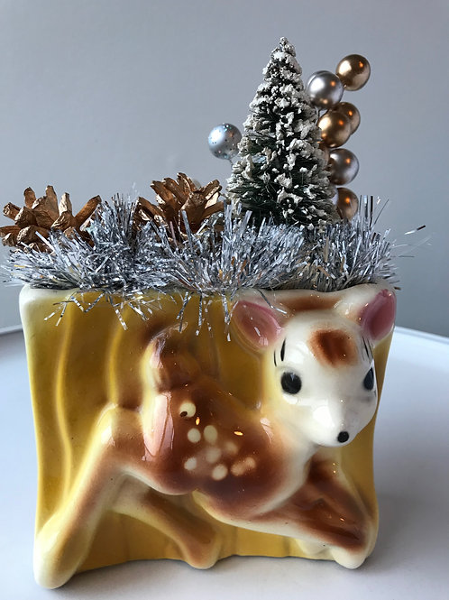 Vintage Deer Christmas Decoration #4