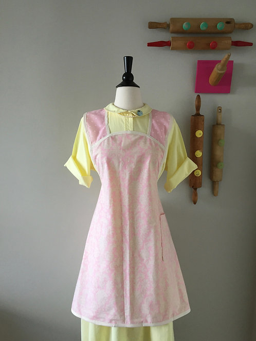 Retro Apron 1940's Style The Softest Pink Apron