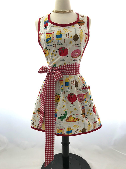 Snappy Snacks Retro Apron