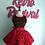 Thumbnail: Romantic Roses Red and Black #2 Circle Skirt
