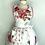Thumbnail: Pink Floral Vintage Tablecloth #2 Retro Apron