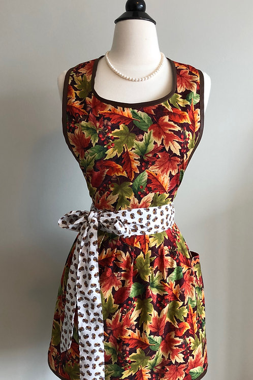 Autumn Retro Apron