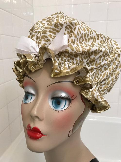 Women's Shower Cap Rawr Gold