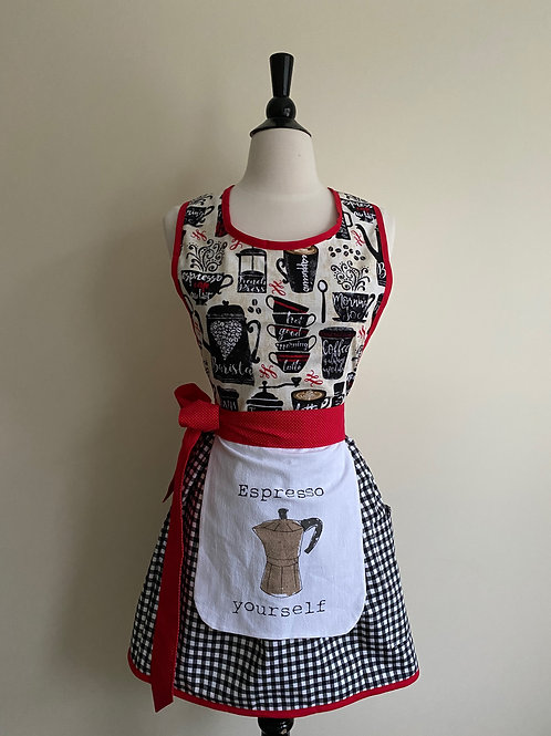 Espresso Yourself Retro Apron