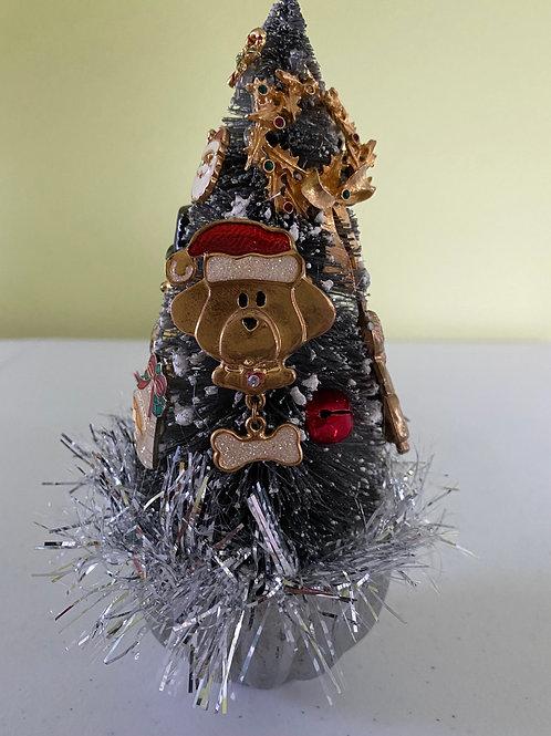 Vintage Christmas Decoration Centerpiece in Jello Mold #2