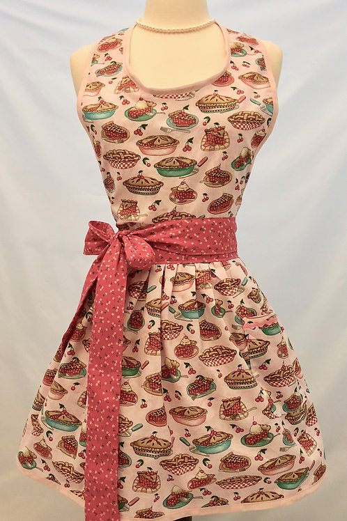 Cherry Pie Retro Apron