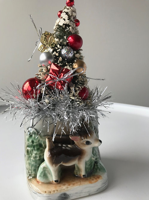 Vintage Deer Christmas Decoration #2