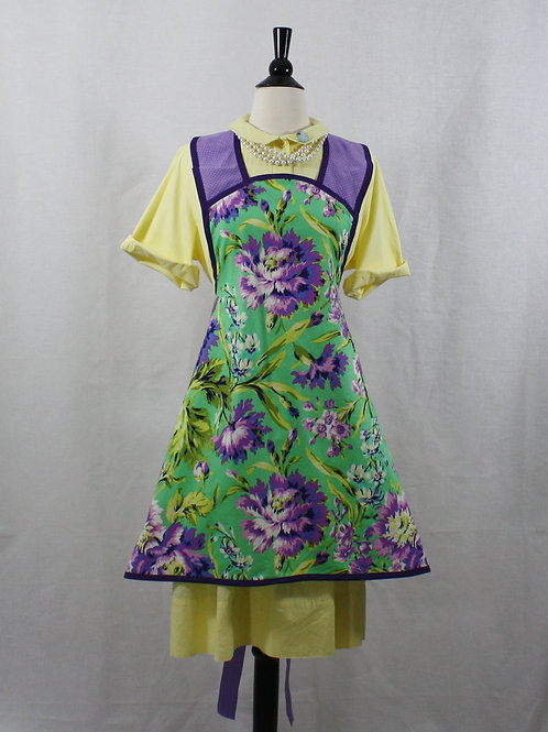 Retro Apron Lavender Dream Apron