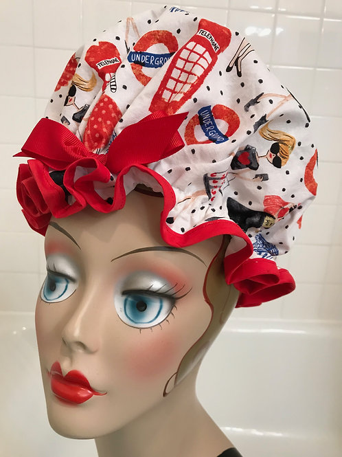 Women's Shower Cap London Calling