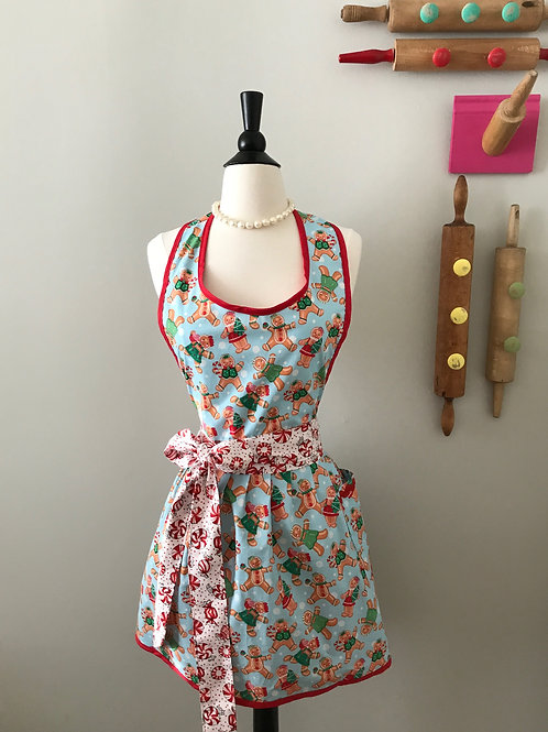 Retro Apron Gingerbread Girls & Boys