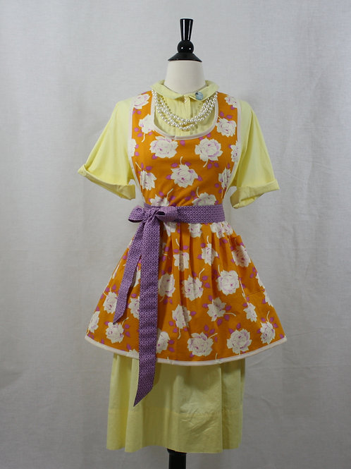 Retro Apron Tangerine Dream Apron