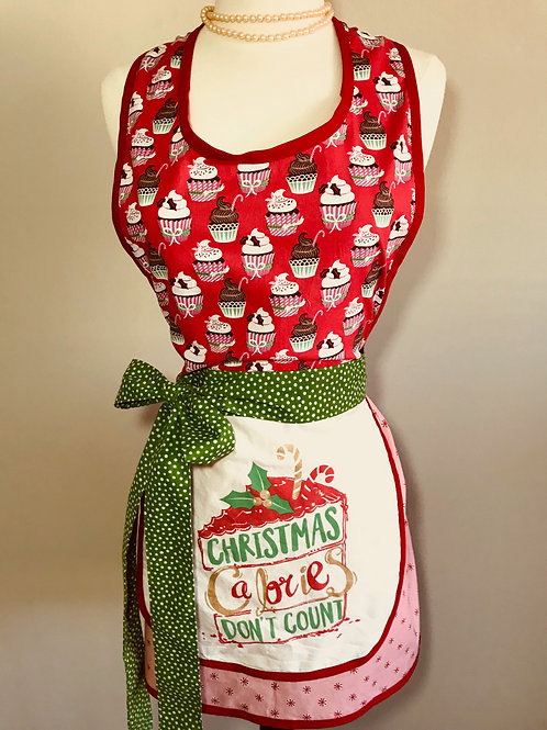 Christmas Calories Don't Count Christmas Apron