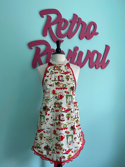 Mrs. Cleaver's Kitchen #2 Retro Apron