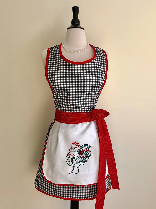 """Becky's Rooster"" Apron"