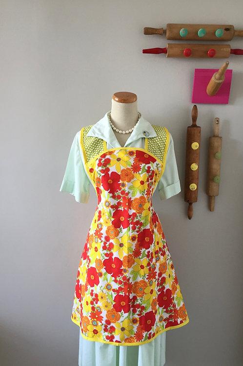 Retro Apron 1940's Style Summer Apron