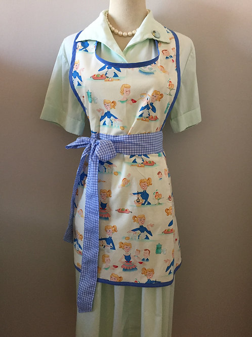 Betty Bakes Flat Front Apron