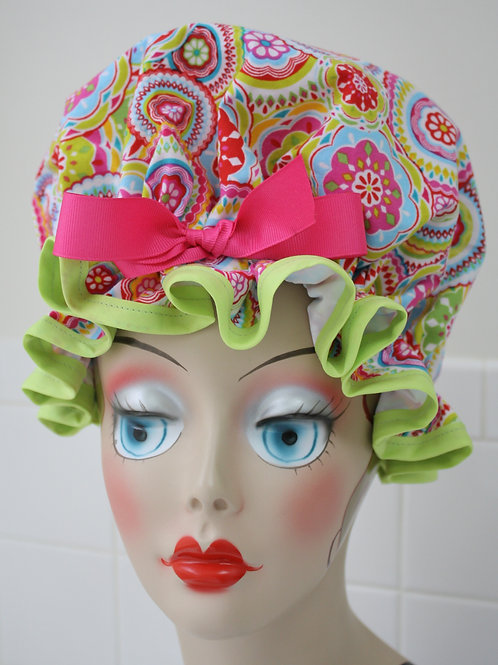 Kaleidoscope Shower Cap