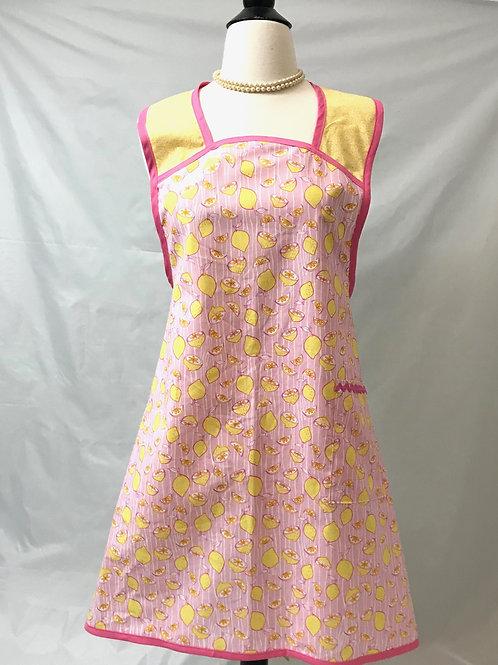 Pink Lemonade #2 A-Line Retro Apron
