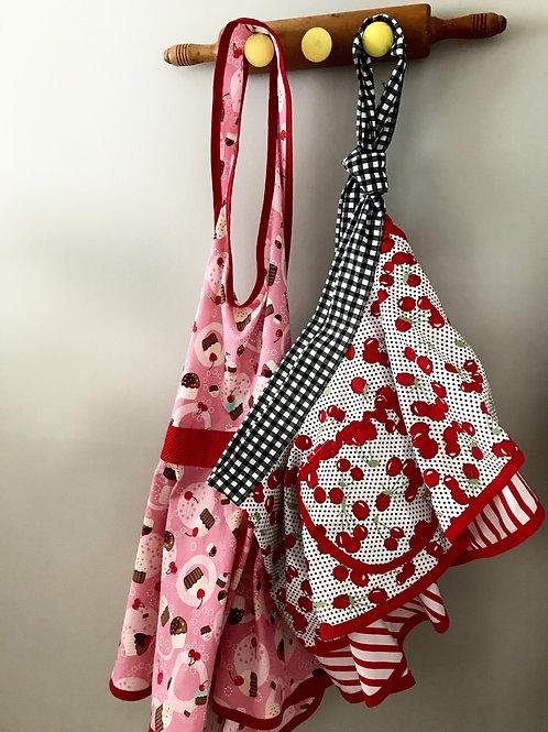 Red Knobs #3 Vintage Rolling Pin Hanger