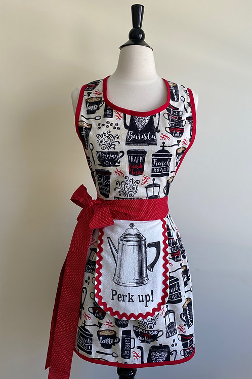 Perk Up Retro Apron