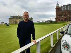 Paul Tosca at St. Andrews Old Course