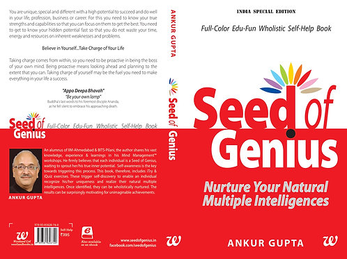 Seed of Genius 2nd Edition by Ankur Gupta