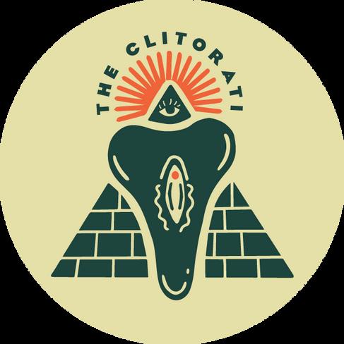 Clitorati Bike Group Sticker