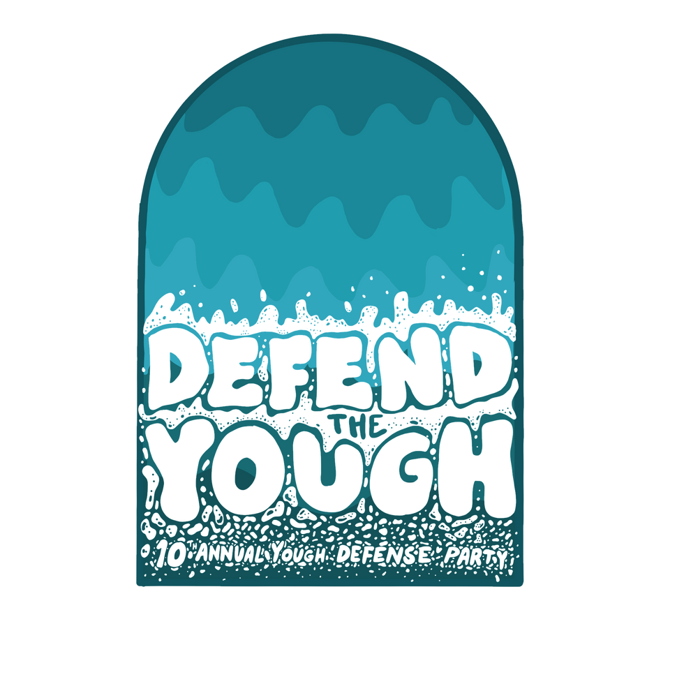 Mountain Watershed's Yough River Defense Party logo