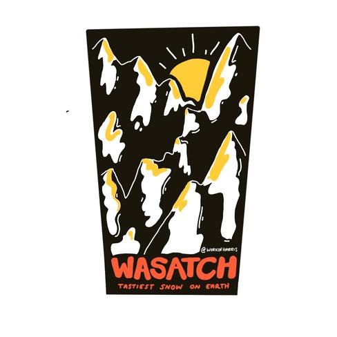 Wasatch sticker