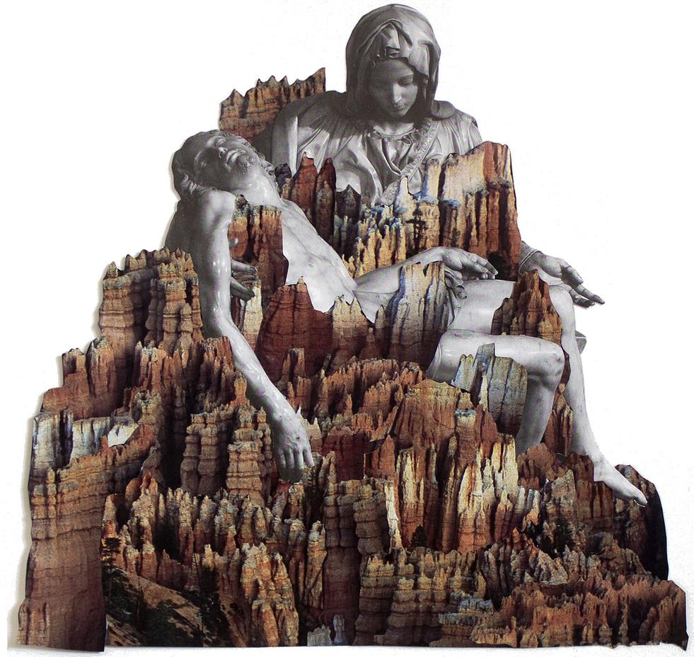 Pieta collage