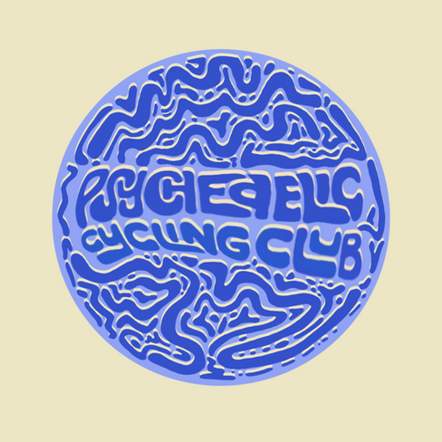 Psychedelic Cycling Club for Fayettechill Mountain Co.