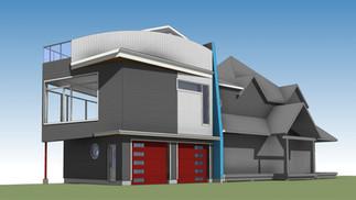 Studio/Garage Addition - Chelsea Quebec