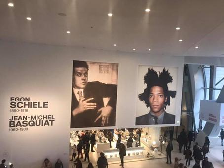 Exposition Schiele & Basquiat