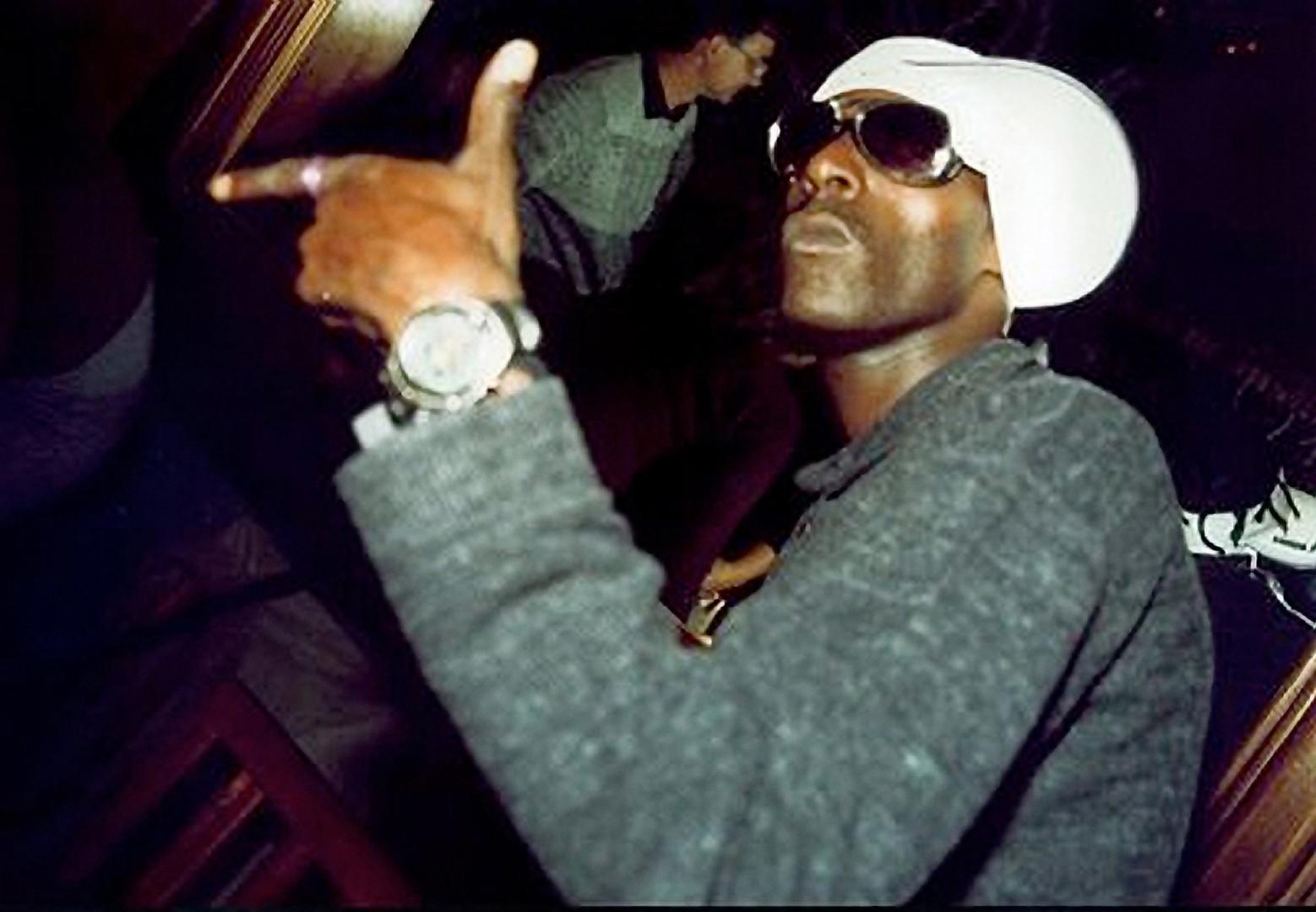 Rapper Sabotage. Photo Julio Kohl _ AE.