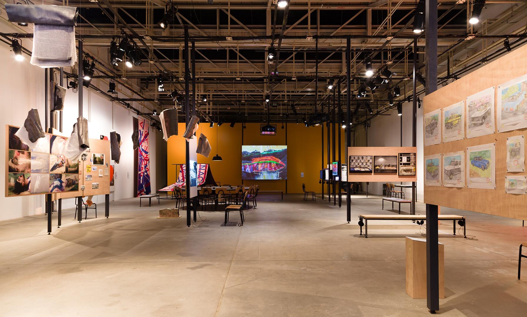Vista da exposição Meta-Arquivo: 1964-1985.