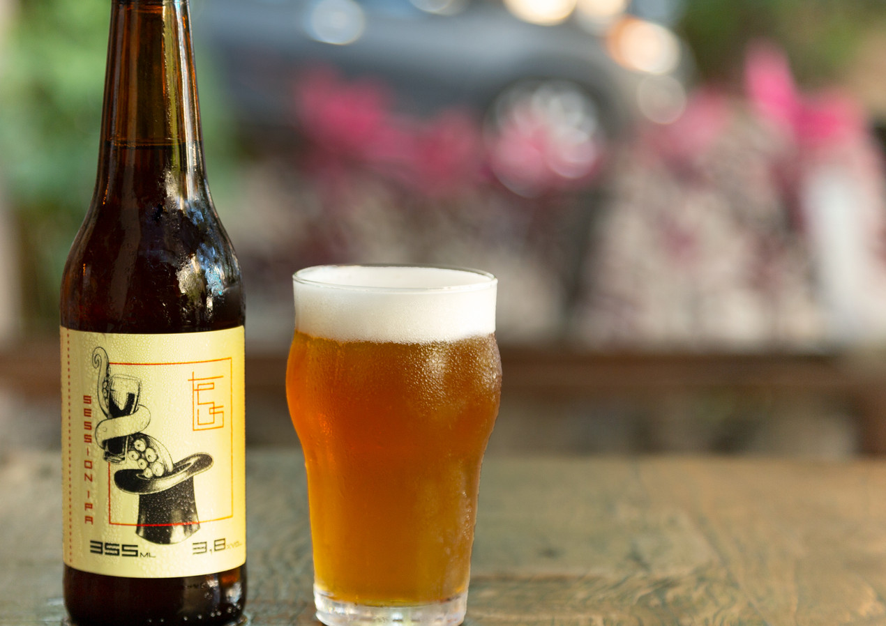Cerveja Teus session Ipa/Restaurante Teus