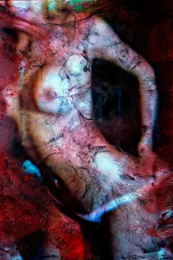 Fotografia+tinta óleo+ ensaio erotico. photo: JulioKohl.